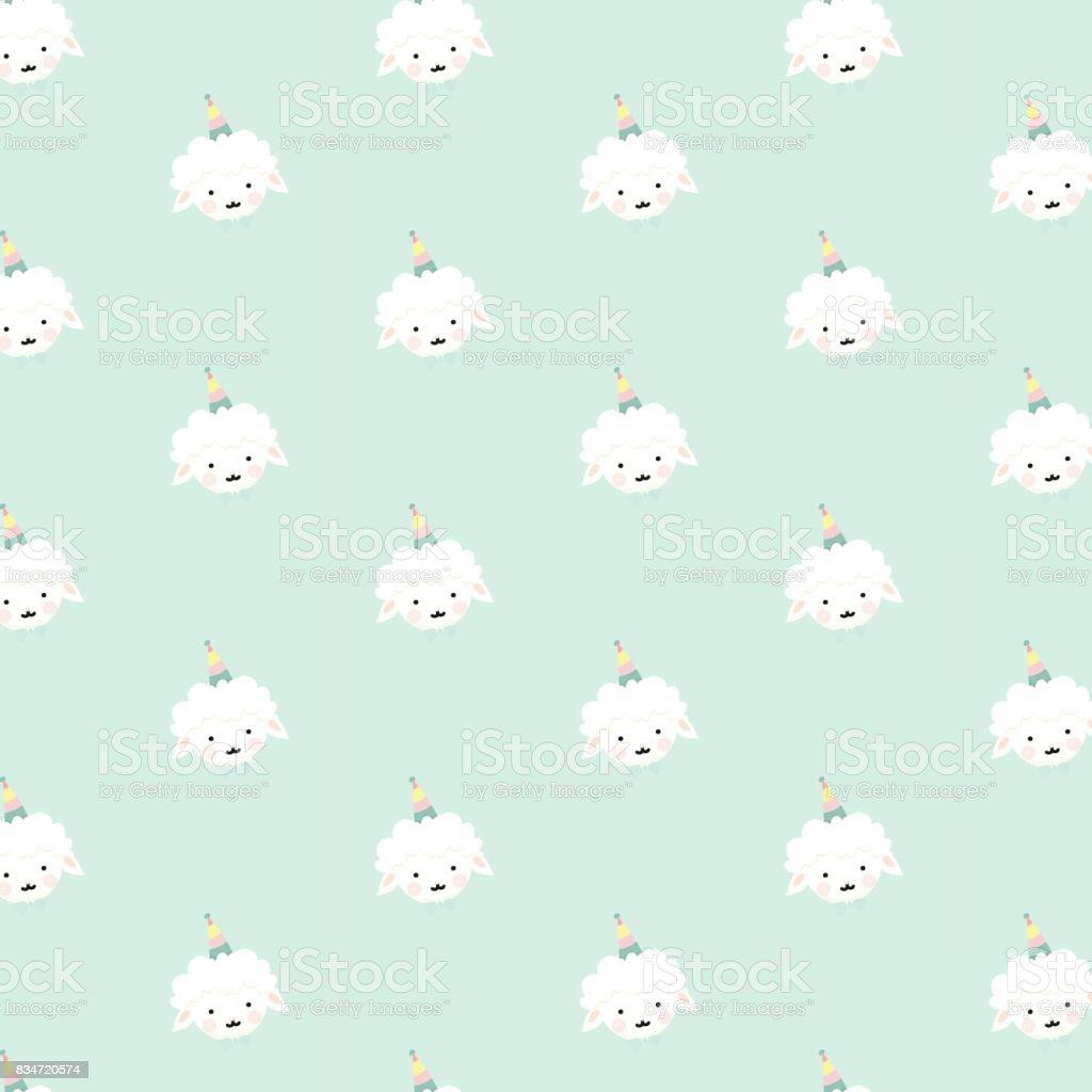 Vector Sheep Pattern Royalty Free Stock Art Amp More