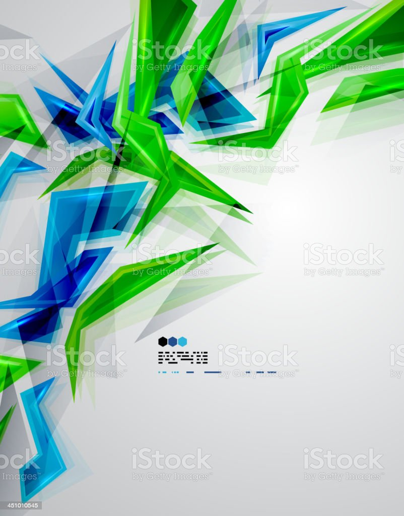 Vector shiny blue and green background royalty-free vector shiny blue and green background stock vector art & more images of abstract