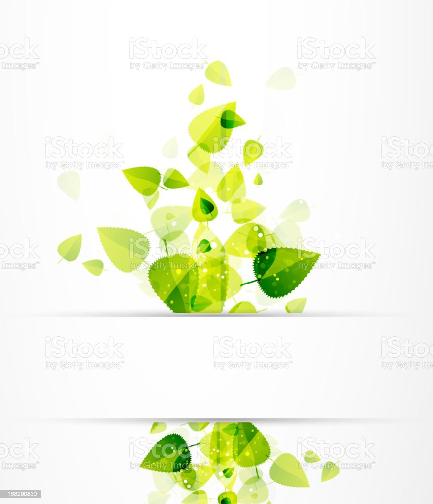 Vector shiny green leaves background royalty-free vector shiny green leaves background stock vector art & more images of abstract