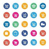 Vector shopping icon