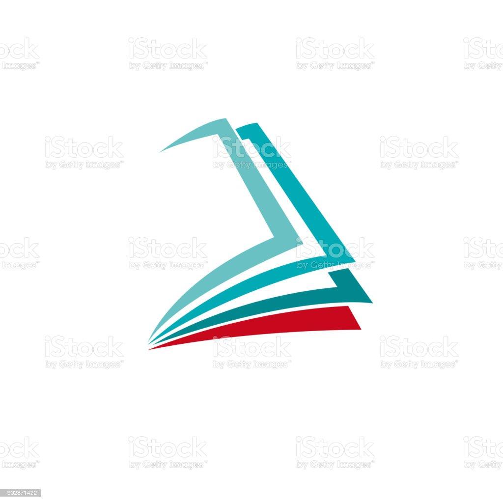 Vector sign book векторная иллюстрация