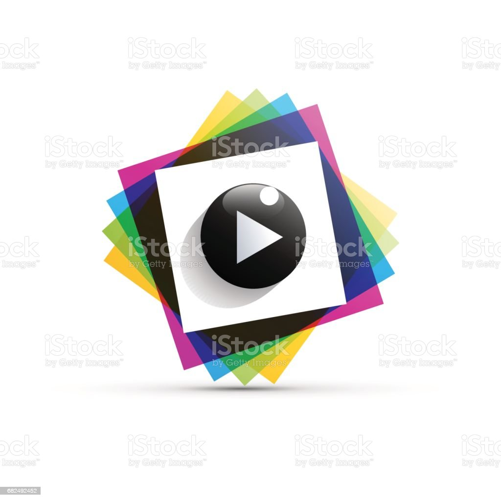 Vector sign cmyk playback royalty-free vector sign cmyk playback stock vector art & more images of abstract