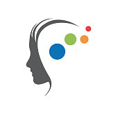 Vector sign concept of psychologist, analyst or scientist