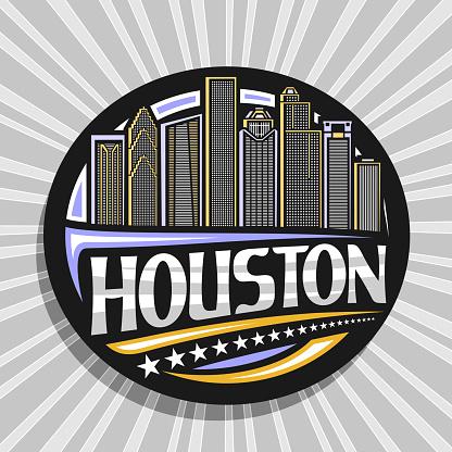 Vector sign for Houston