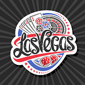 Vector sign for Las Vegas