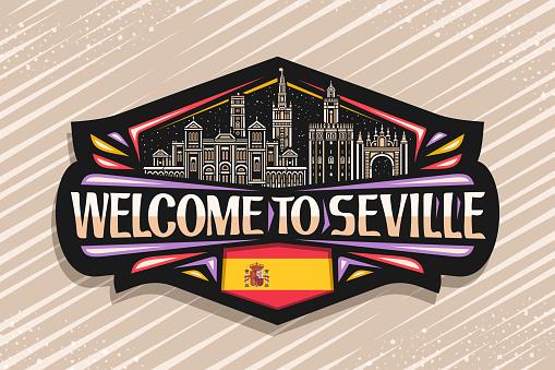 Vector sign for Seville