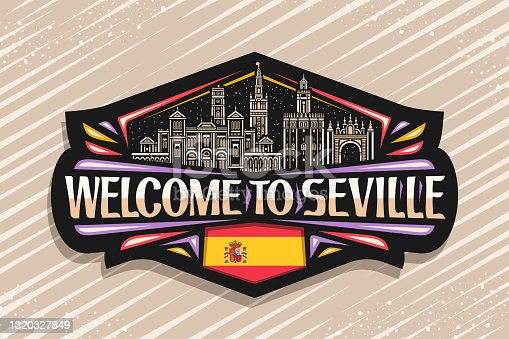 istock Vector sign for Seville 1320327849