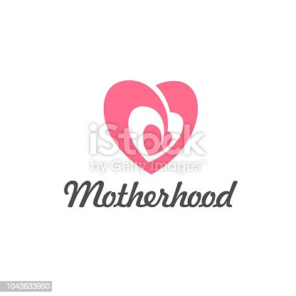Vector sign of motherhood and childbearing