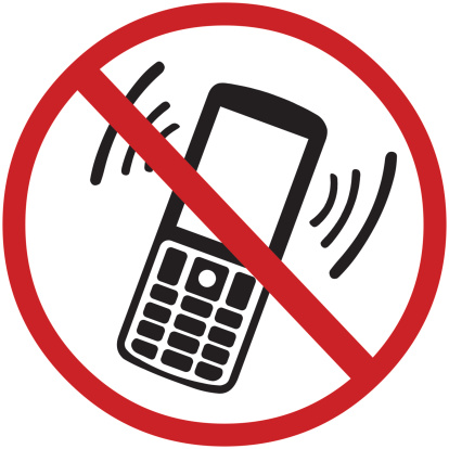 vector sign:  turn off your mobile phone