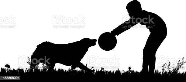 Vector silhouette of a boy with a dog vector id483868094?b=1&k=6&m=483868094&s=612x612&h=kxxfjmnn ylereqd82hanubrvg7eybcekm6hozwukba=