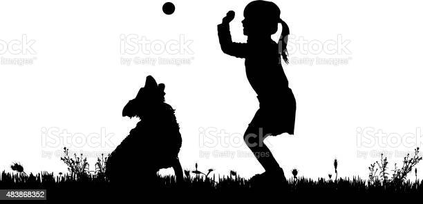 Vector silhouette of a girl with a dog vector id483868352?b=1&k=6&m=483868352&s=612x612&h=jmaxt34idki5itrbl5i7r2jtocibj9saqsacmb3qfow=