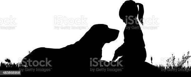 Vector silhouette of a girl with a dog vector id483868958?b=1&k=6&m=483868958&s=612x612&h=arhbiai4dj6wq0nc72c  cxvftknr1 8enp7c6k3vqc=