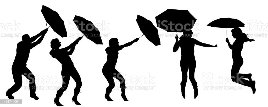 Vector silhouette of a woman. royalty-free vector silhouette of a woman stock vector art & more images of adult
