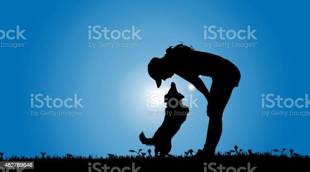 Vector silhouette of a woman with a dog vector id482769646?b=1&k=6&m=482769646&s=612x612&h=kzivx3ttyxavscxh jilukjznprwnmnzzoobpineavm=