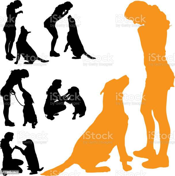 Vector silhouette of people with dog vector id499407979?b=1&k=6&m=499407979&s=612x612&h=jdycdy otrzls bptdpjm9ix0qxpe1xjdzx8ajmhmwk=