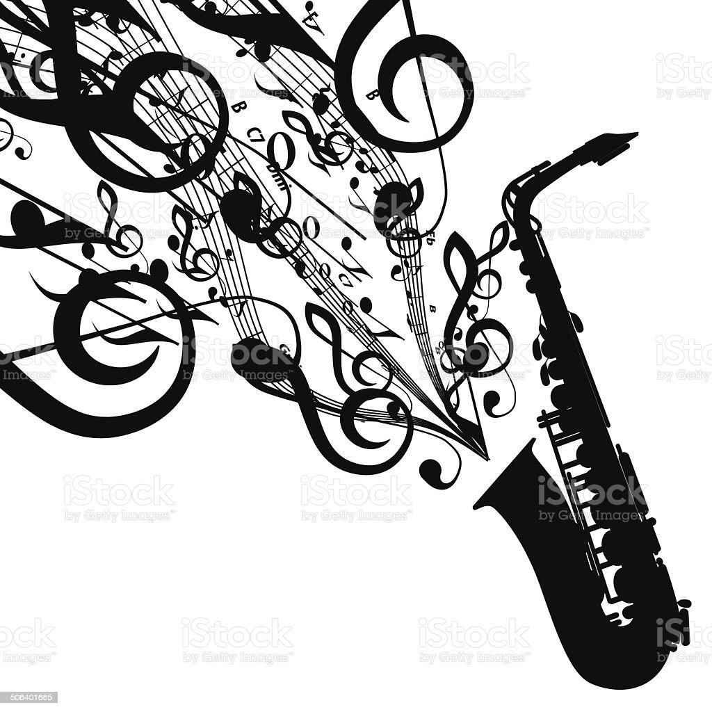 Vector silhouette of saxophone with musical symbols stock vector vector silhouette of saxophone with musical symbols royalty free vector silhouette of saxophone with musical buycottarizona Gallery