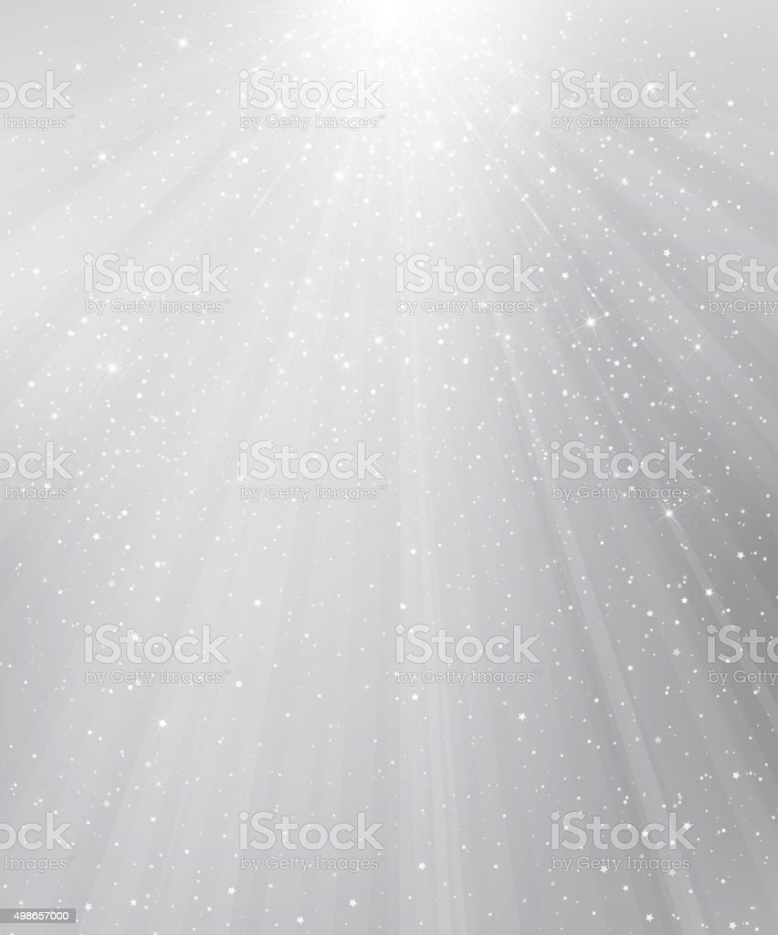 Vector silver background. vector art illustration