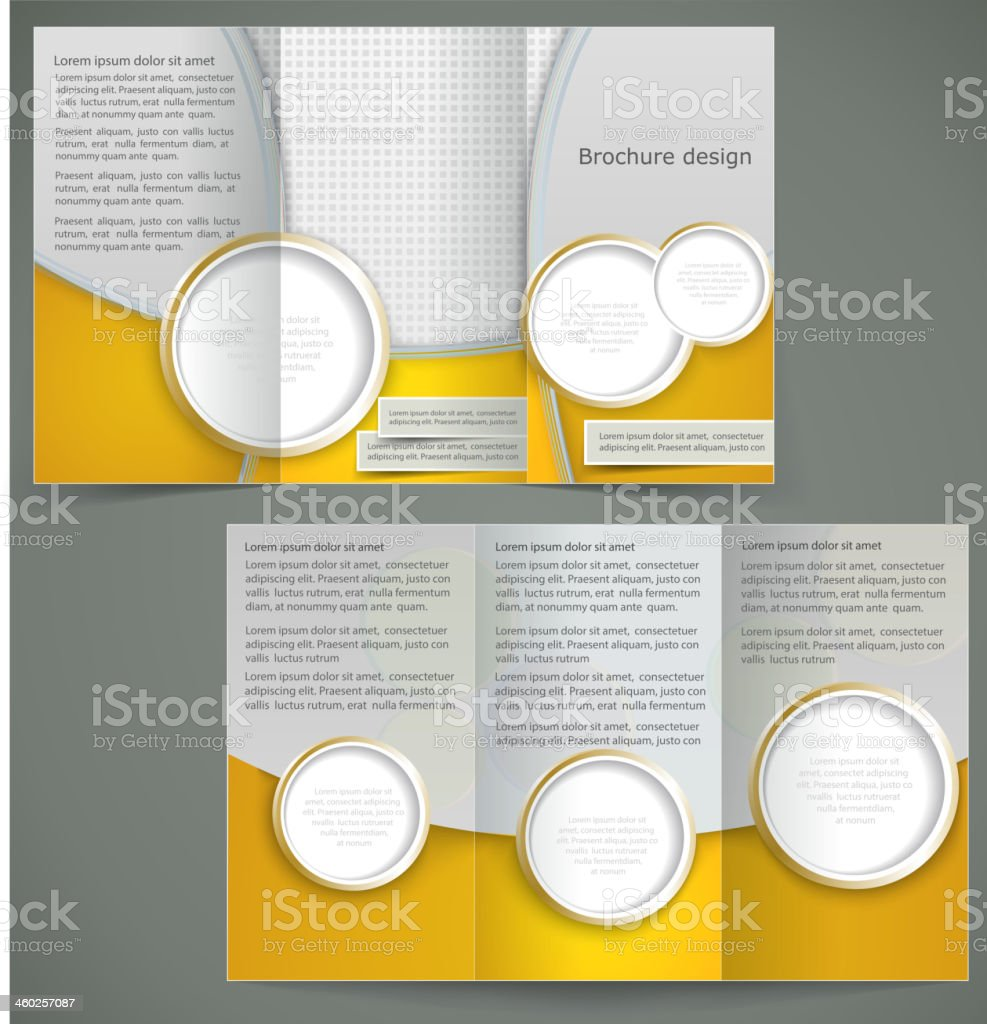 Vector silver brochure layout design, business three fold flyer royalty-free vector silver brochure layout design business three fold flyer stock vector art & more images of abstract