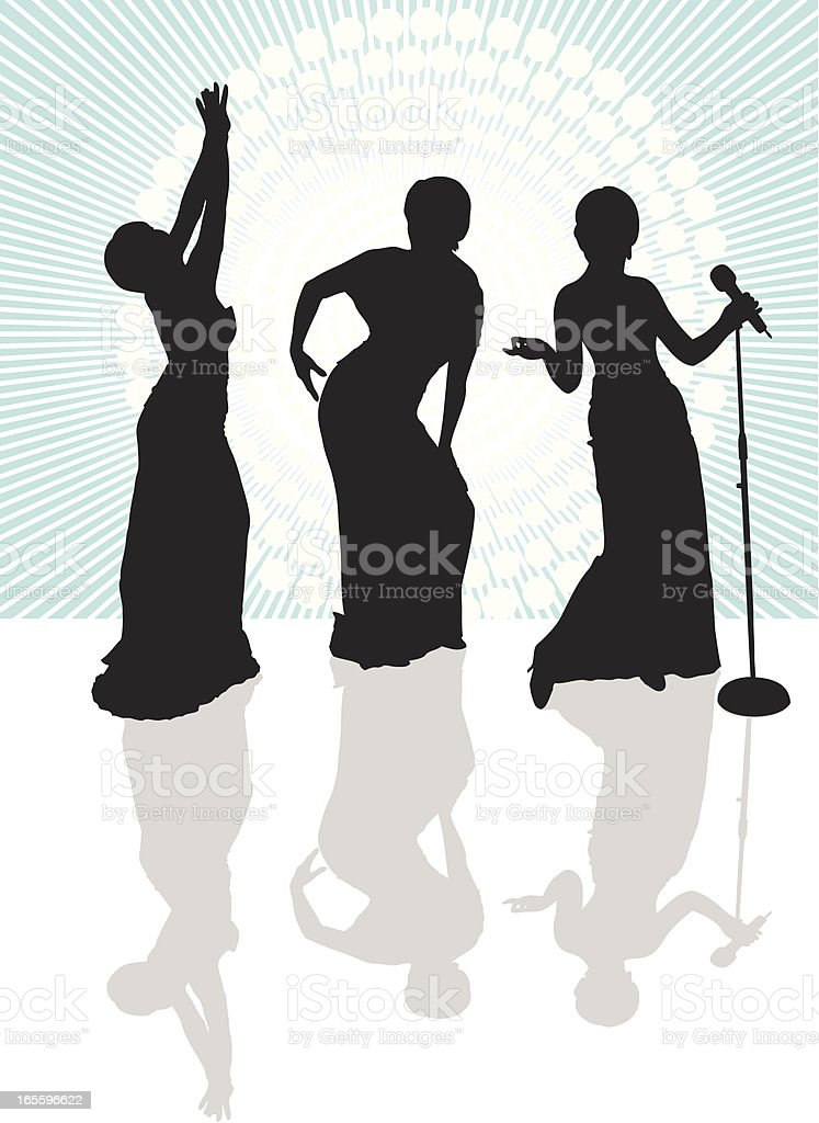 Vector Singing Trio royalty-free vector singing trio stock vector art & more images of arts culture and entertainment