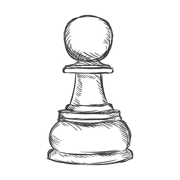 Royalty Free Pawn Chess Piece Clip Art, Vector Images ...