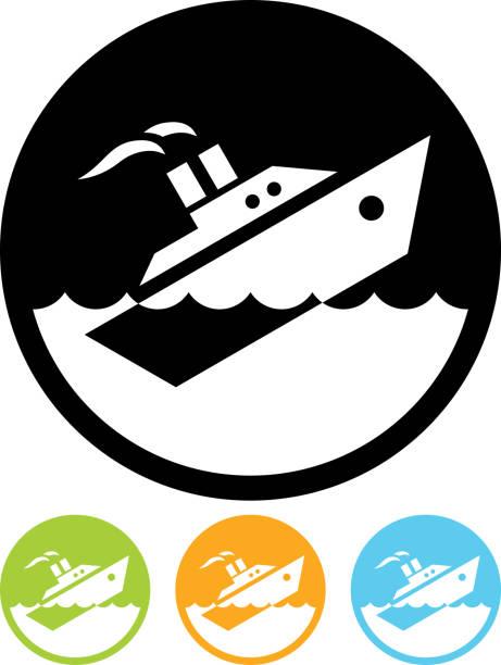 vektor sinkenden schiff gerettet, isoliert - gesunken stock-grafiken, -clipart, -cartoons und -symbole