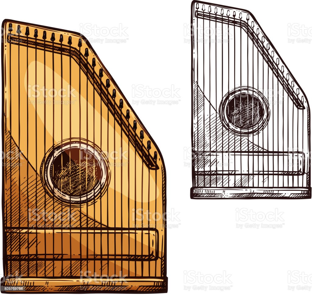 zither vektorgrafiken und illustrationen istock