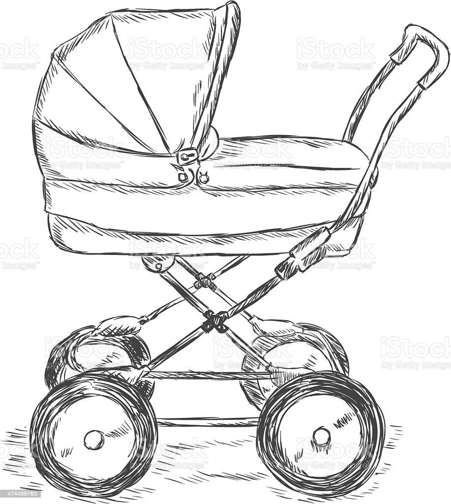 ilustração de vetor desenho de ilustração de buggy e mais banco de