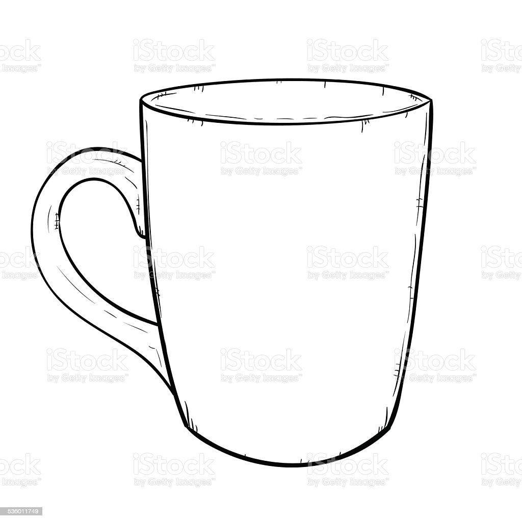 Coffee cup sketch - Breakfast Coffee Drink Coffee Cup Crockery Cup