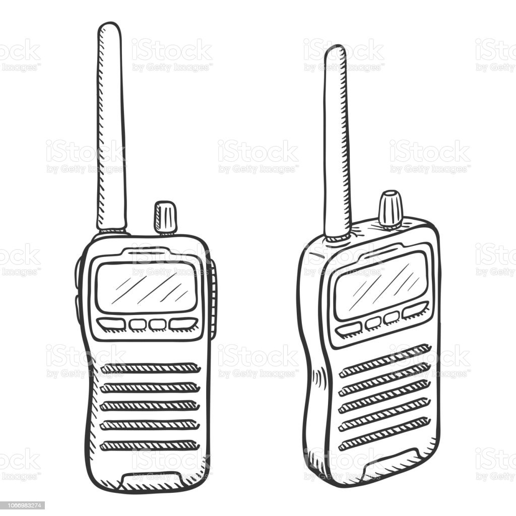 royalty free walkie clip art  vector images