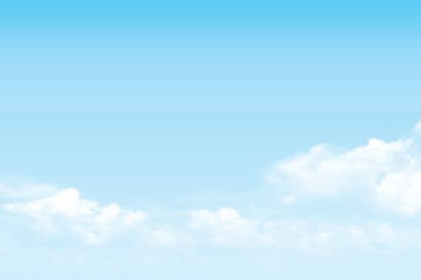 ベクトル空雲の背景 - 青空点のイラスト素材/クリップアート素材/マンガ素材/アイコン素材