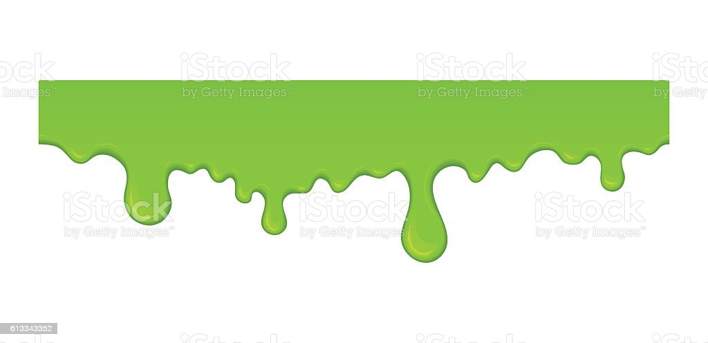 Vector slime drops and blots. vector art illustration