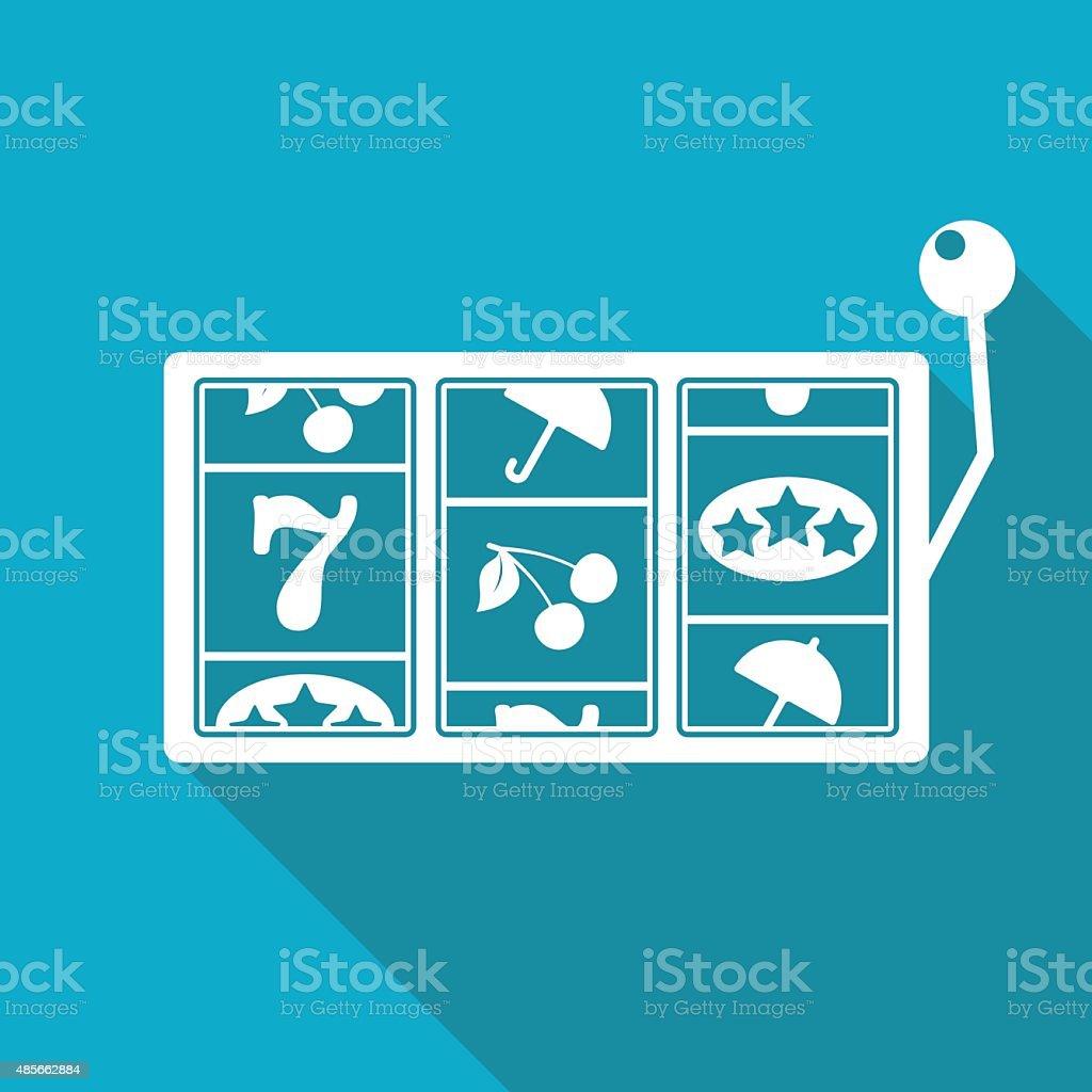 Icône de vecteur pour les machines à sous. Eps10 - Illustration vectorielle
