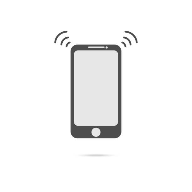 Vektor Smartphone Verbindungsgerät icon – Vektorgrafik