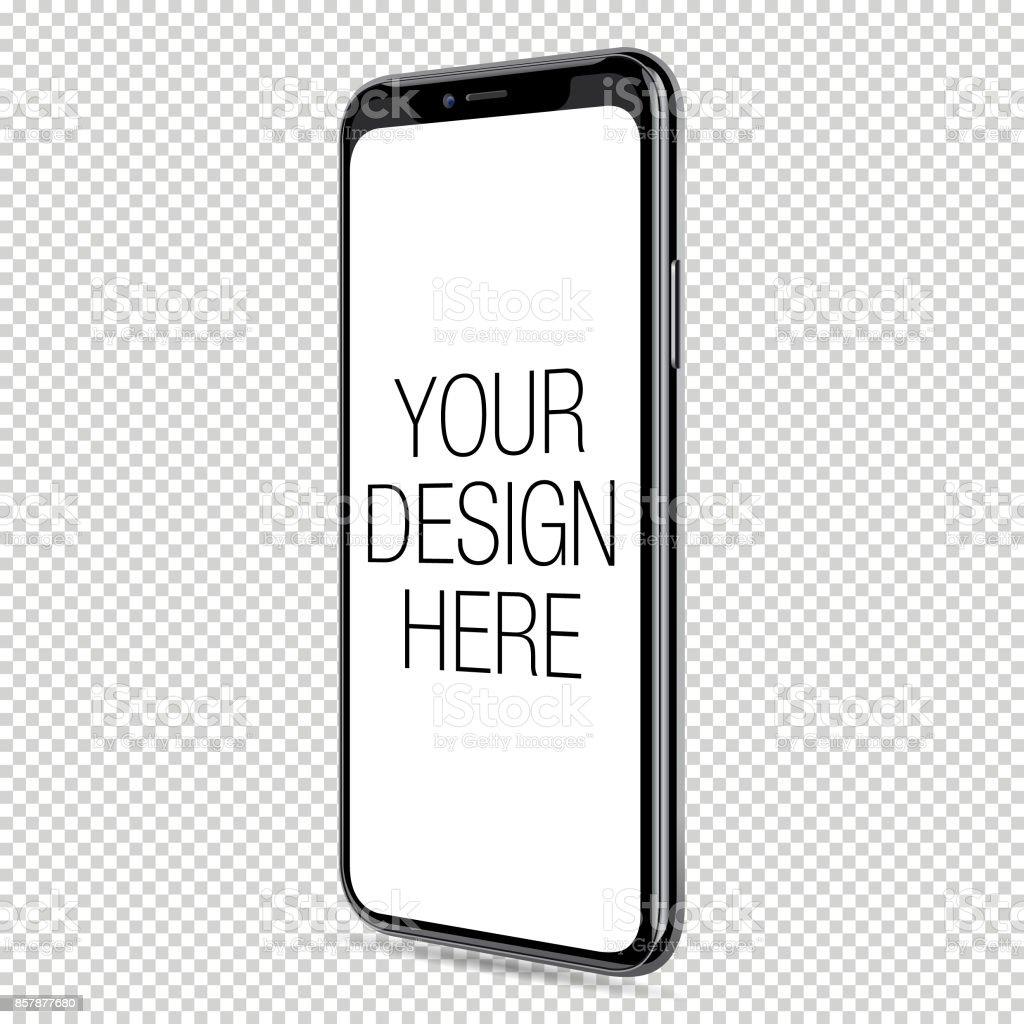 Vector Smart Phone Template vector art illustration