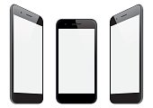 Vector smart phone templates