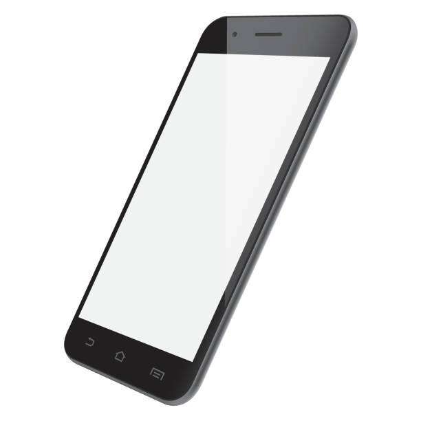 スマートフォンのベクトルテンプレート - スマートフォン点のイラスト素材/クリップアート素材/マンガ素材/アイコン素材