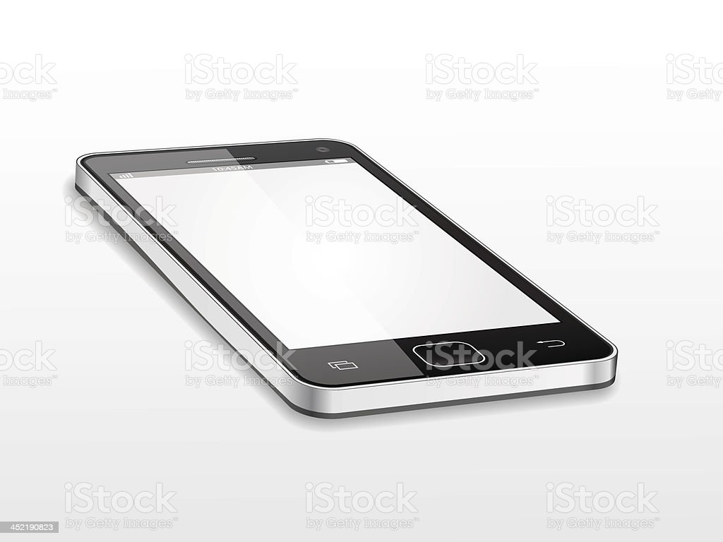 Vector smartphone royalty-free vector smartphone stock vector art & more images of black color