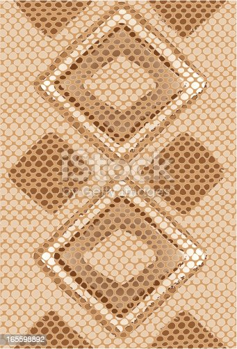 Diamond Back Rattlesnake Skin background. The textures are on separate layers for easy editing or color change. Hi-Res JPEG and CS3 files included.