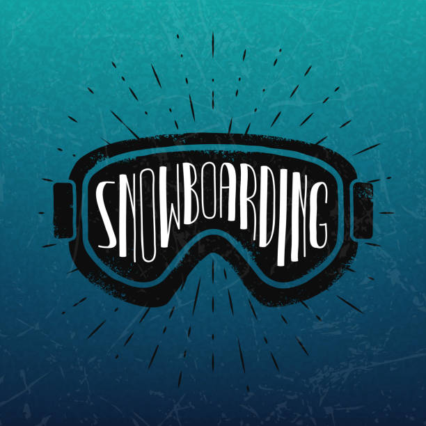 vektör snowboard etiket. - google stock illustrations