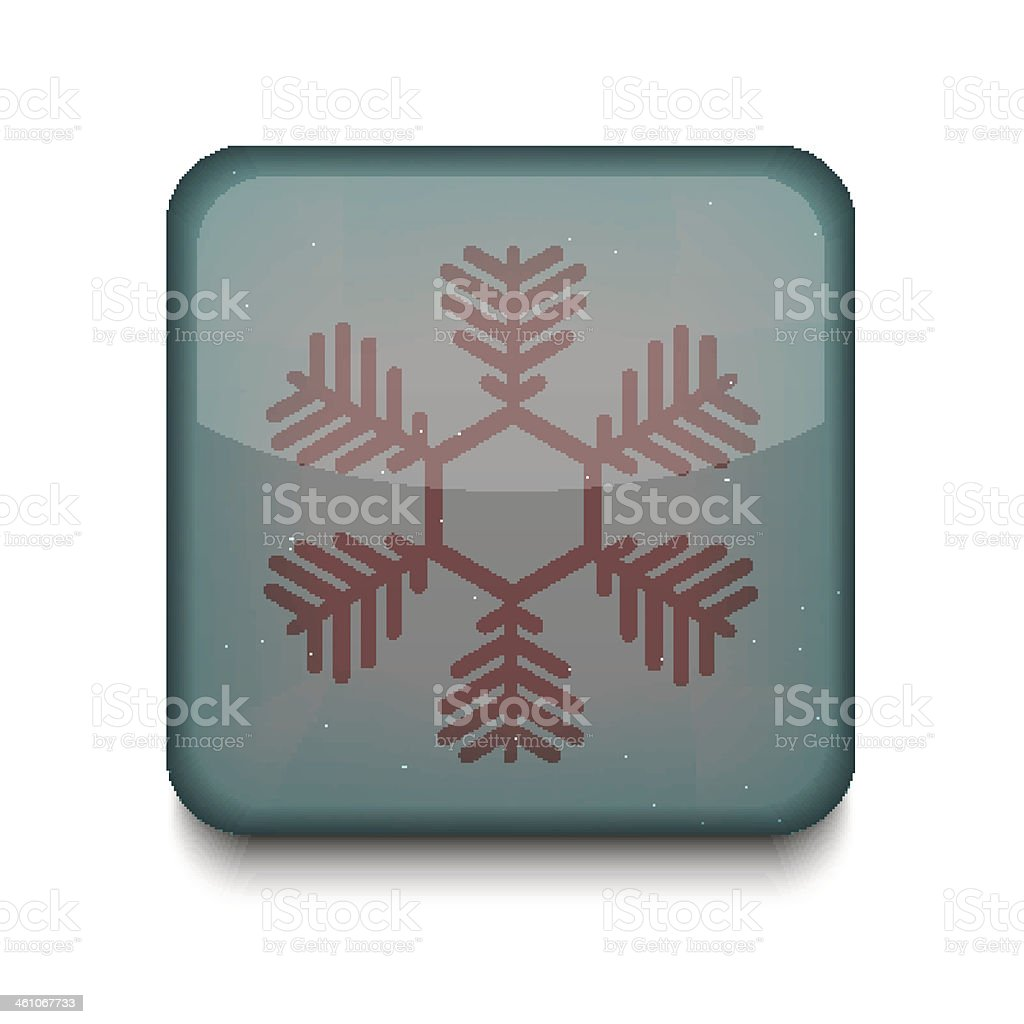 Vector Snowflake icon. Eps10. Easy to edit royalty-free vector snowflake icon eps10 easy to edit stock vector art & more images of abstract