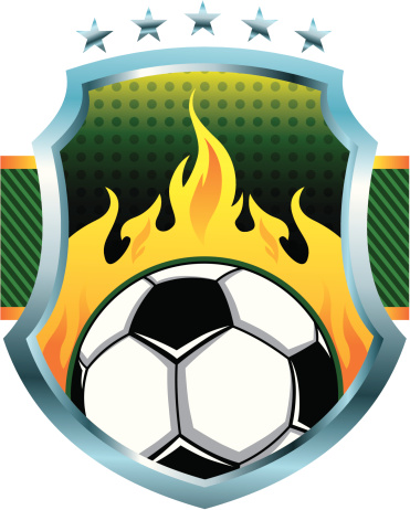 vector soccer logo