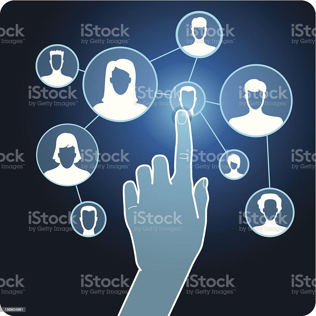 Vector social media network royalty-free vector social media network stock vector art & more images of abstract