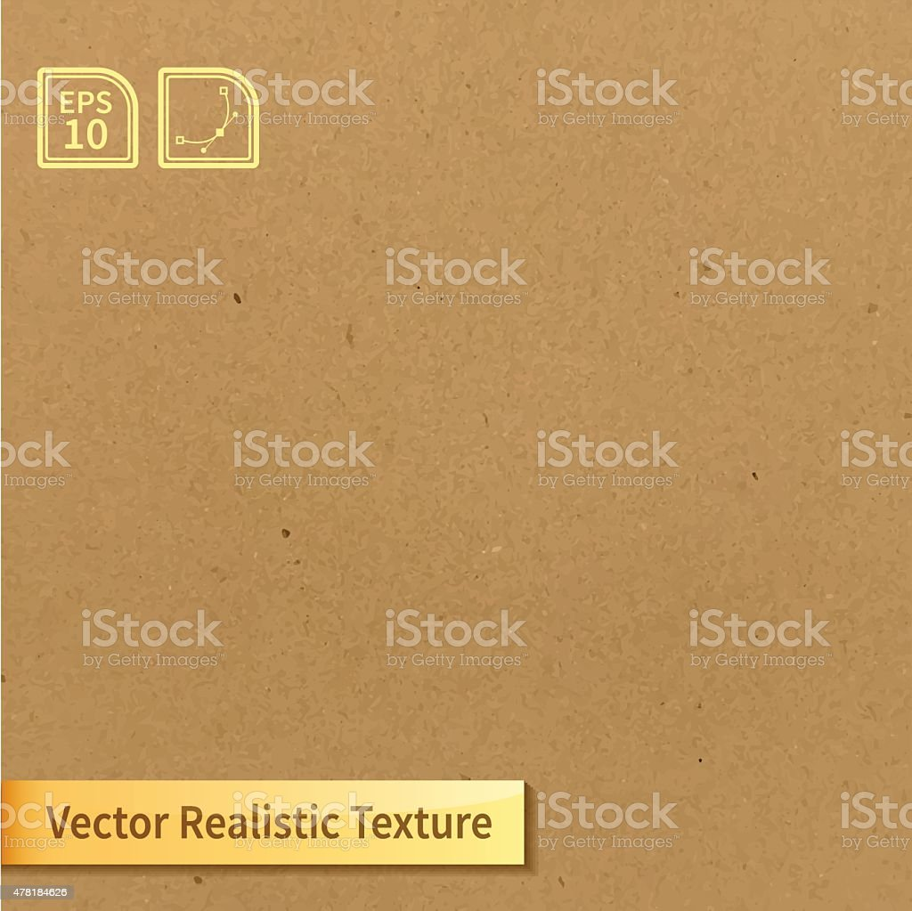 Vector soft clean cardboard texture. Photo texture for your design vector art illustration