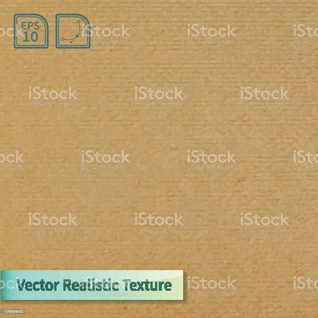 Vector soft clean cardboard texture. vector art illustration