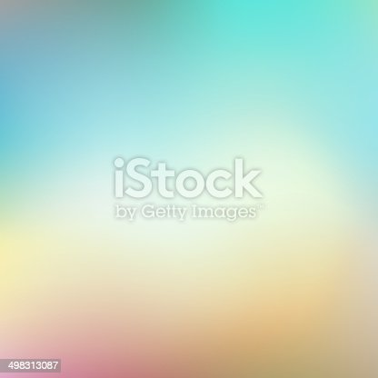 istock Vector soft colored abstract background 498313087