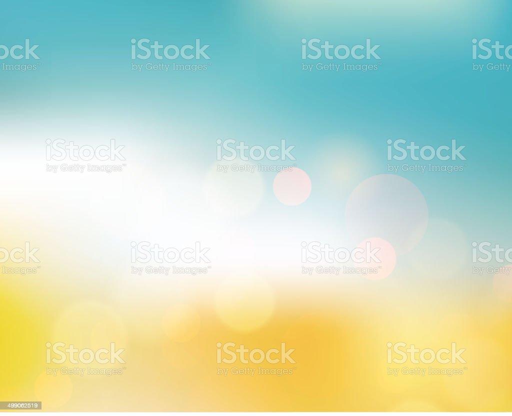 Vetor abstrato colorido macio luz de fundo para o projeto de verão - Vetor de Abstrato royalty-free