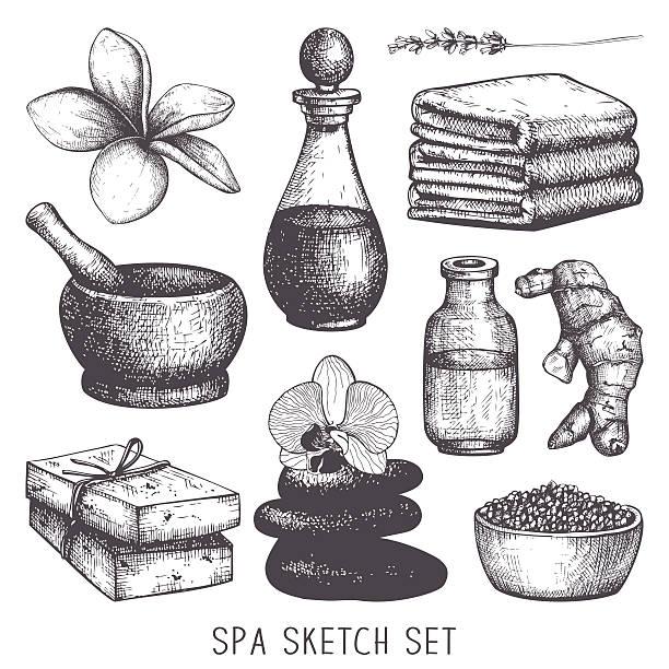 Vector spa  illustration vector art illustration