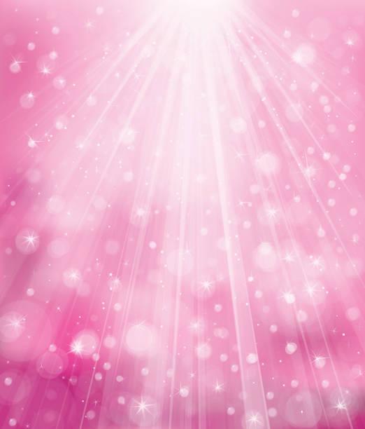 bildbanksillustrationer, clip art samt tecknat material och ikoner med vector sparkle pink background. - rosa bakgrund