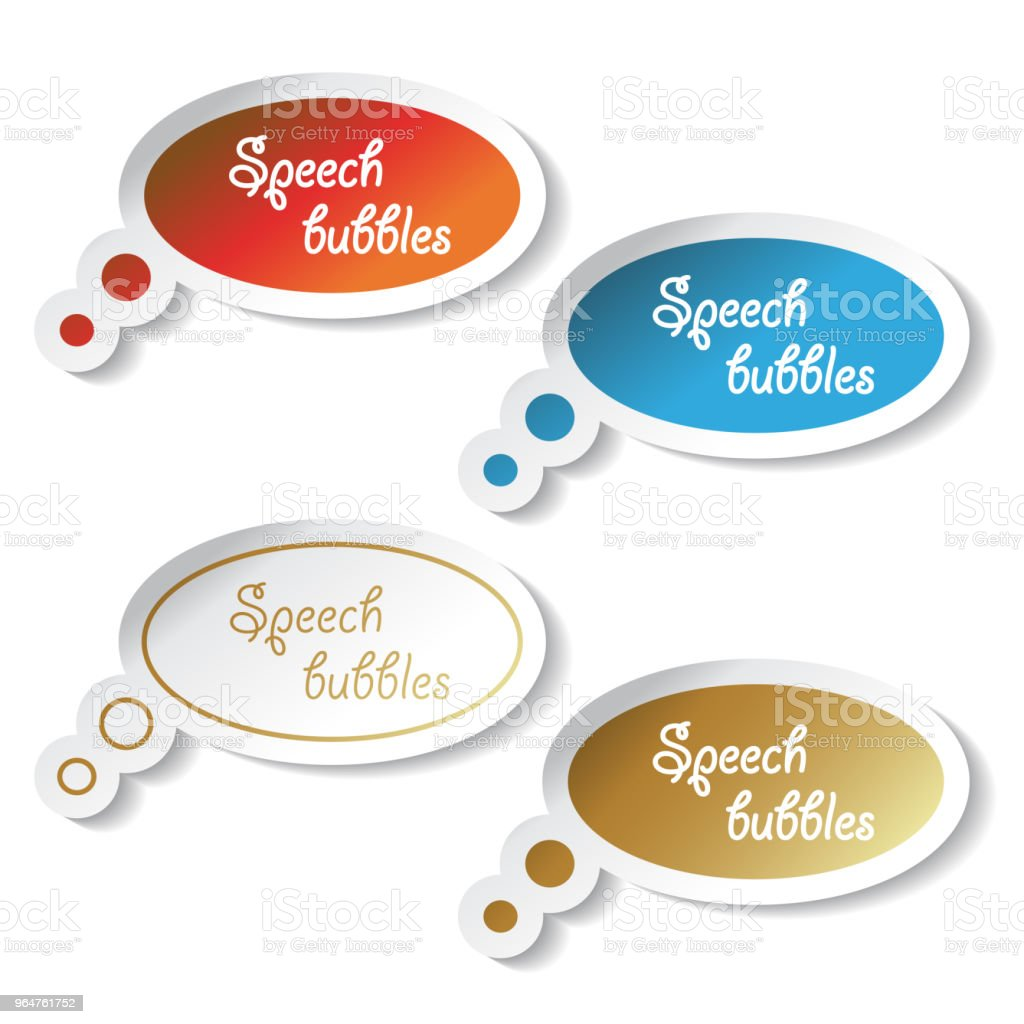 Vector speech bubbles royalty-free vector speech bubbles stock vector art & more images of adhesive note