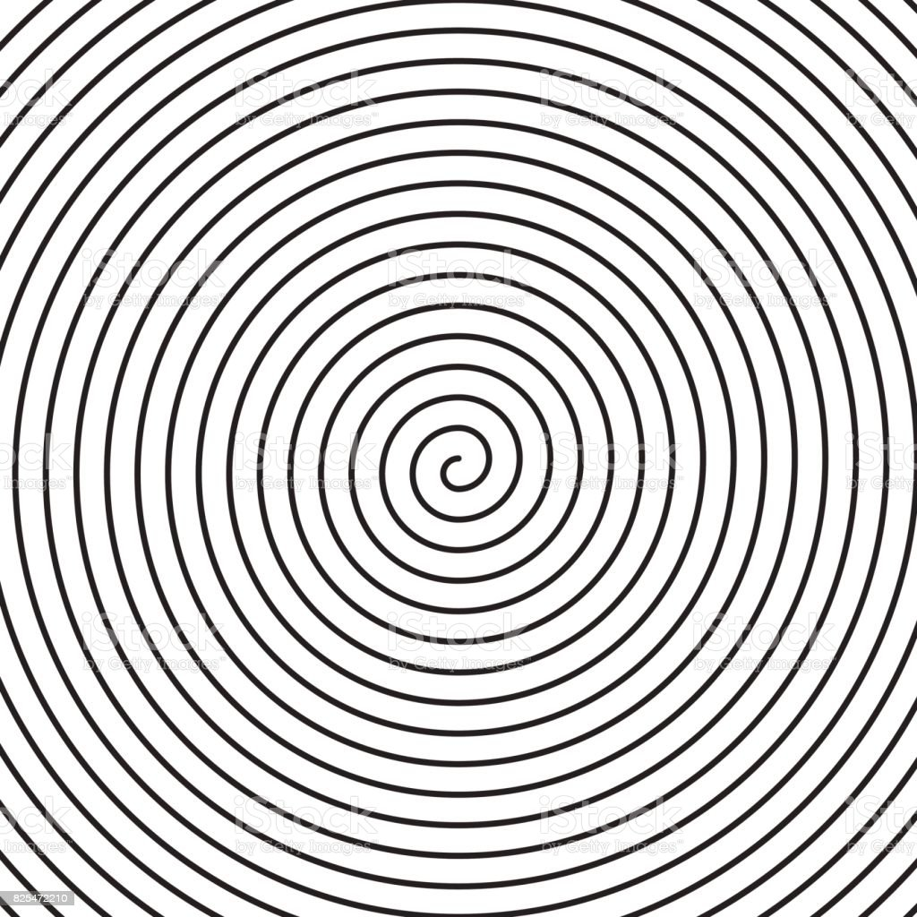 Vector spiral background. vector art illustration